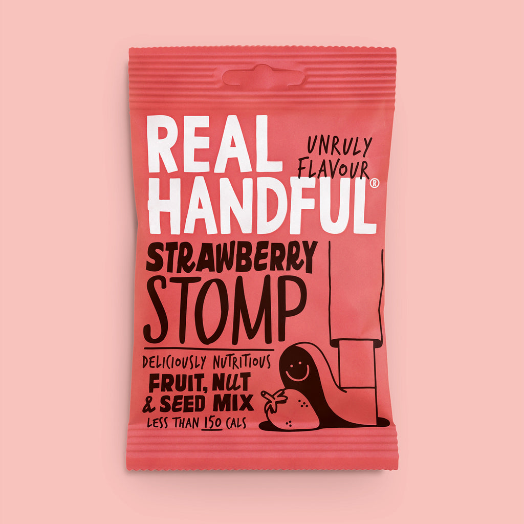 strawberry stomp trail mix