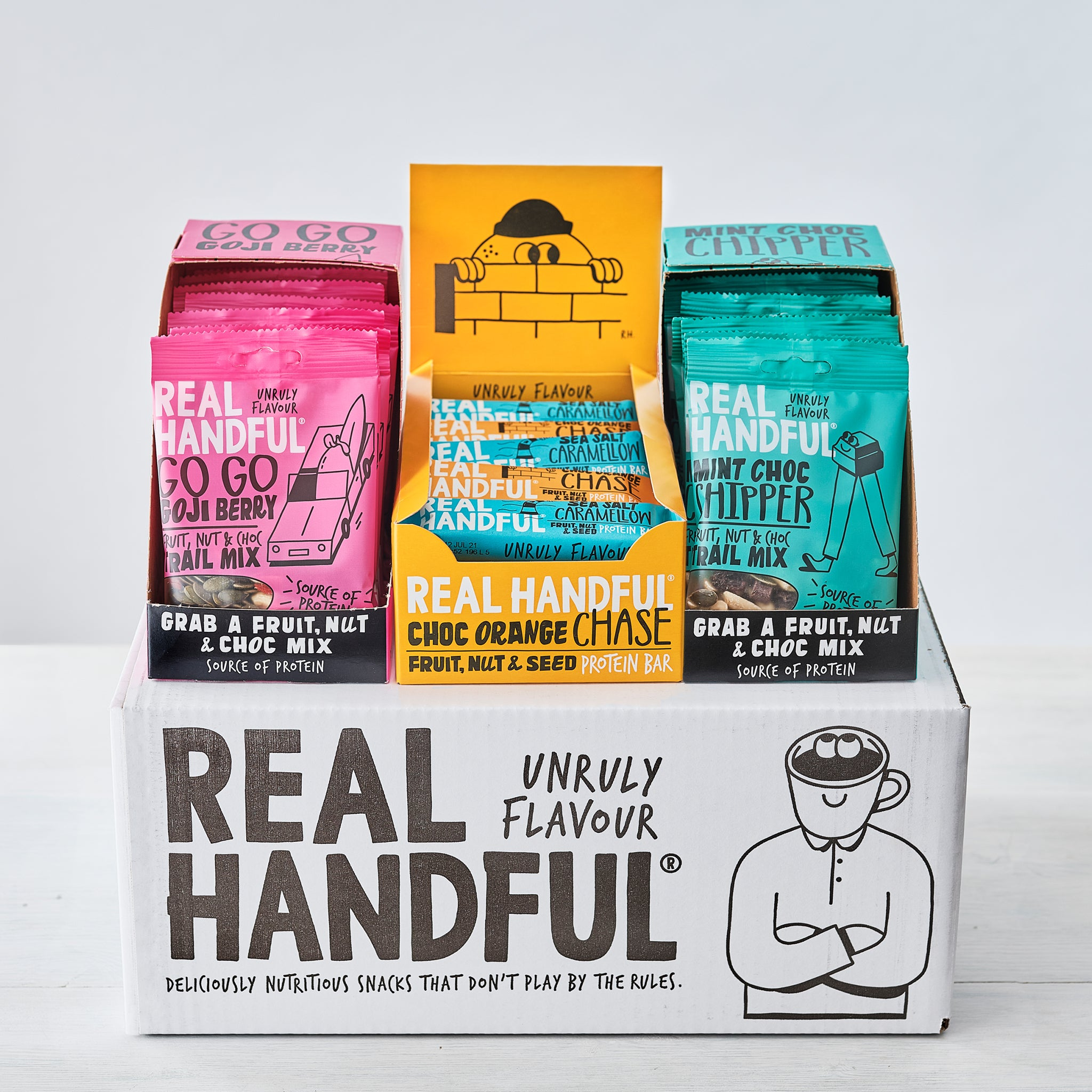 Trail Box Bundle  (20 x Bars/20 x Trail Mix)