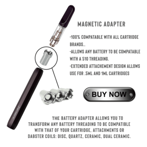 510 thread magnetic adapter