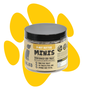 Peanut Butter Dog Treats | with CBD 200mg - Good CBD Online Store