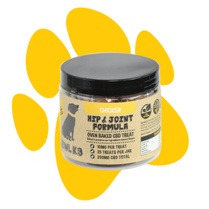 Hemp Dog Treats | Hip & Joint Formula 250mg - Good CBD Online Store