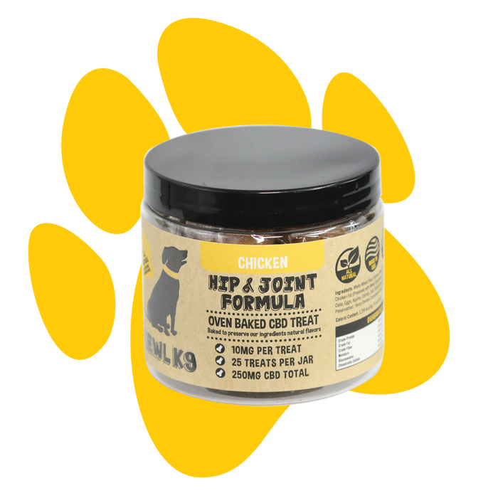 Hemp Dog Treats | Hip & Joint Formula 250mg