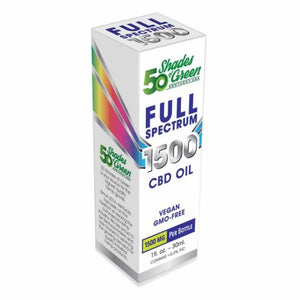Full Spectrum CBD Oil - Fifty Shades of Green - Good CBD Online Store