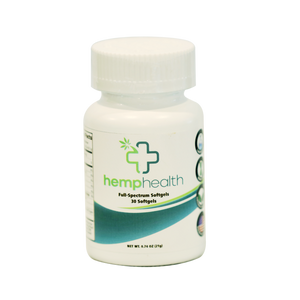 Full Spectrum Hemp Oil Capsules - Good CBD Online Store