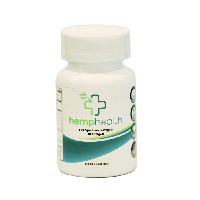 Full Spectrum Hemp Oil Capsules