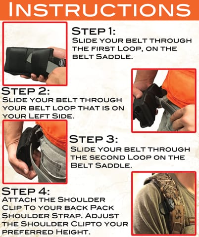 Sling Saddle Combo Instructions