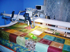 Longarm quilt basting services TopAnchor Quilting Quilted Treasures in WV