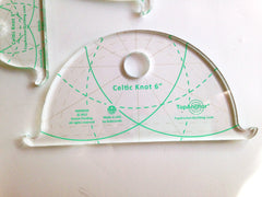 TopAnchor Celtic Knot machine quilting templates rulers