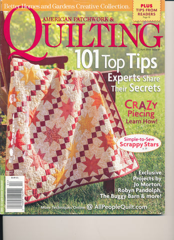 American Patchwork & Quilting Magazine April 2009 Issue 97