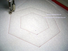 HexStar Machine Quilting Template 50% off (Being Redesigned)