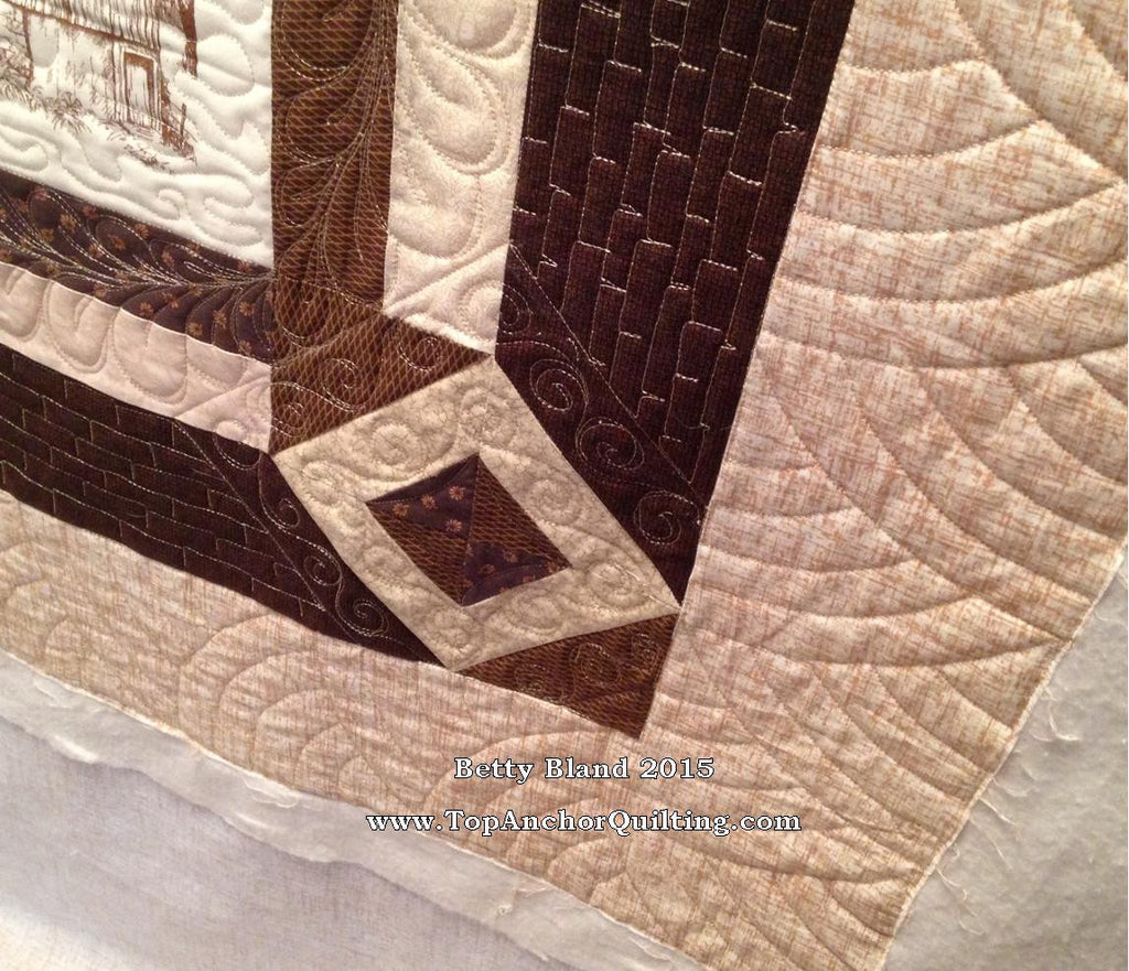 baptist fan quilting template topanchor quilting tools