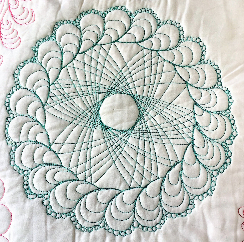 Feather Wreath Longarm Quilt Templates Amp Quilting Designs