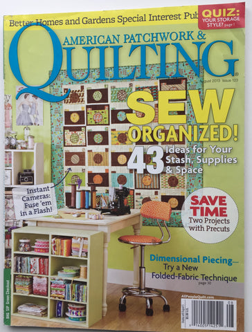 American Patchwork & Quilting August 2013 Issue 123