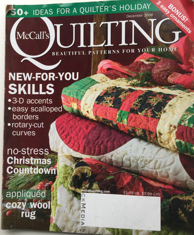 McCall's Quilting December 2008