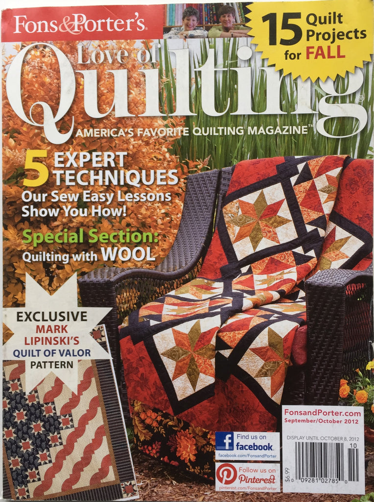 Fons & Porter's Love of Quilting September/October 2012