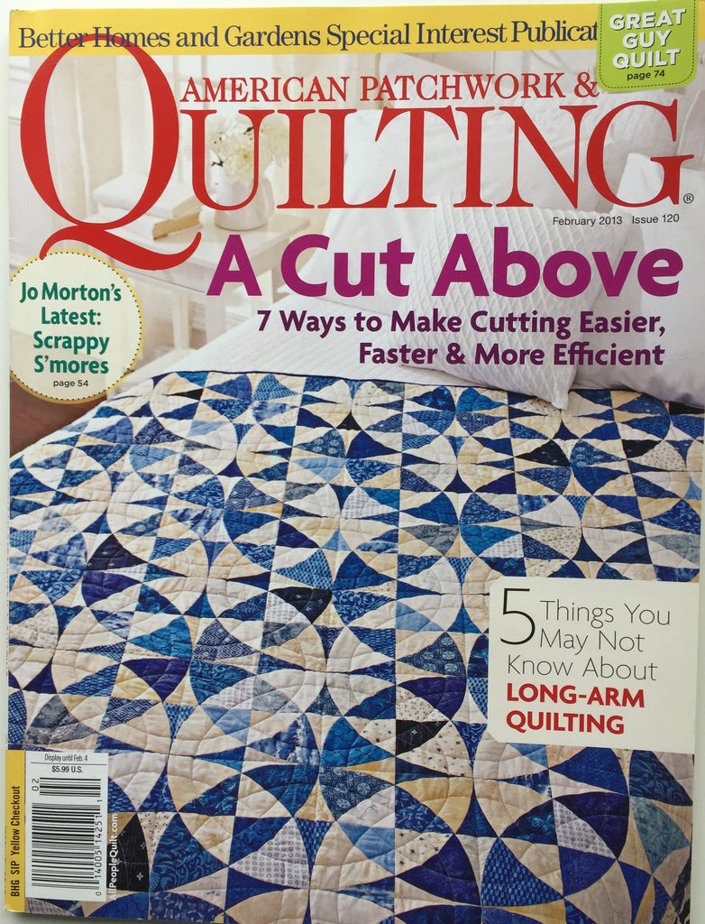 American Patchwork & Quilting February 2013 Issue 120