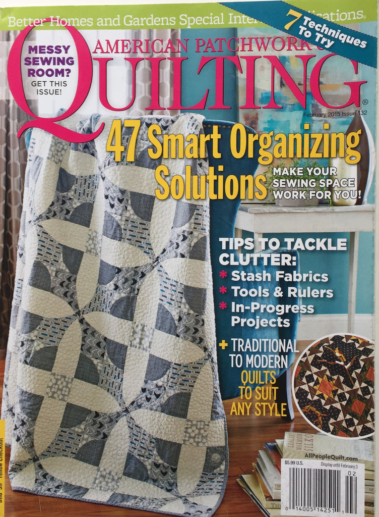 American Patchwork & Quilting February 2015 Issue 132