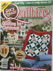 Quick & Easy Quilting December 1997