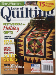 z Fons & Porter's Love of Quilting December 2012