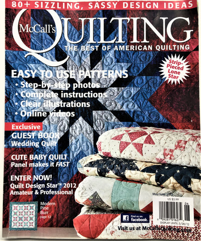 McCall's Quilting May/June 2012