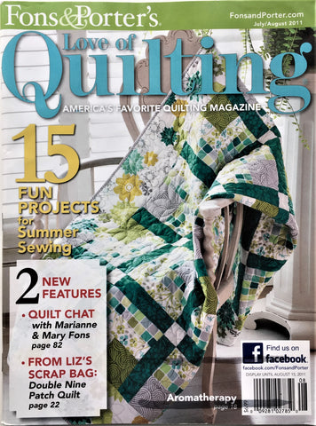 z Fons & Porter's Love of Quilting July/August 2011