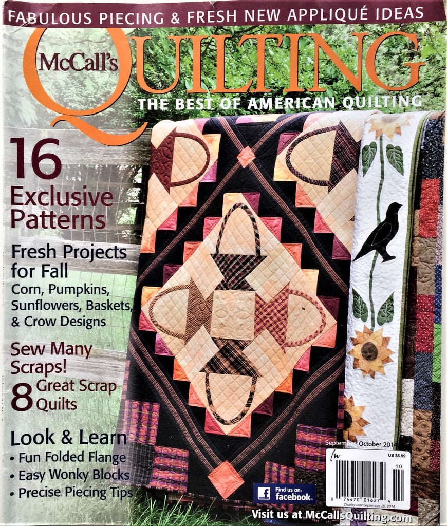 McCall's Quilting September/October 2014