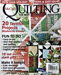 McCall's Quilting November/December 2011