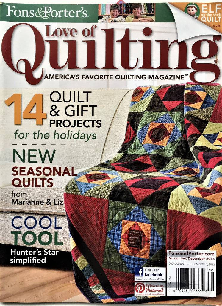 Fons & Porter's Love of Quilting November/December 2013