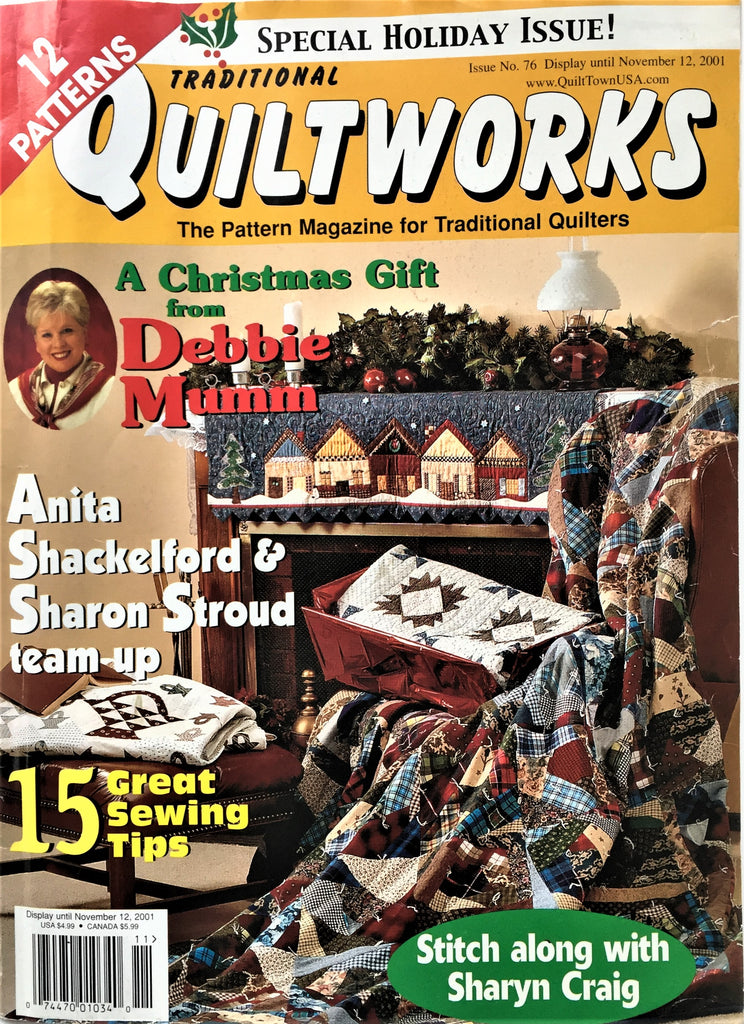Quiltworks Special Holiday Issue Nov 2001 No. 76