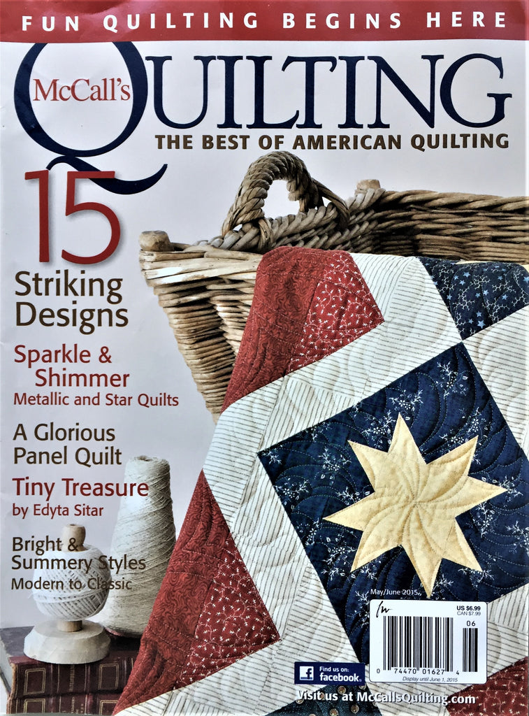 McCall's Quilting May/June 2015