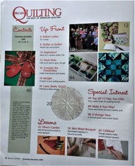 McCall's Quilting December 2009