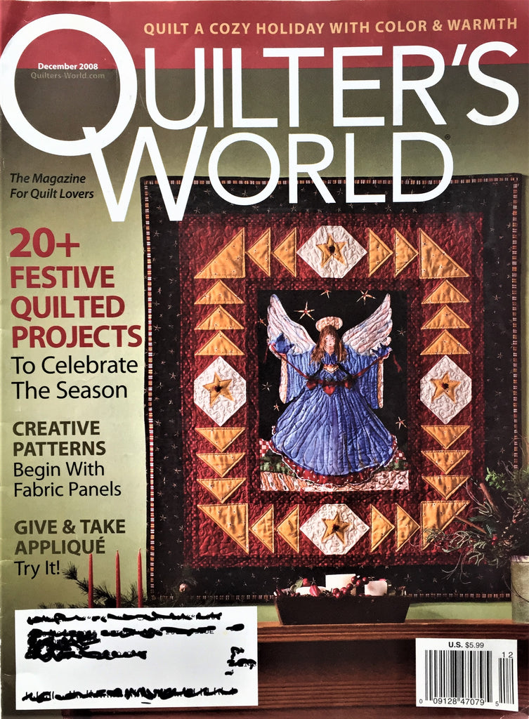 Quilter's World December 2008