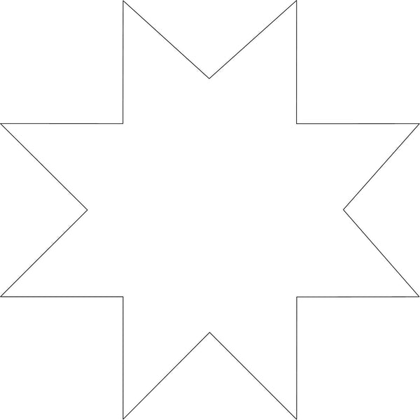 star quilting templates patterns topanchor quilting tools. Black Bedroom Furniture Sets. Home Design Ideas