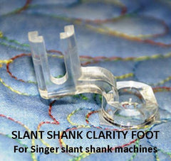 Fine Line Clarity Ruler Foot for Machine Quilting