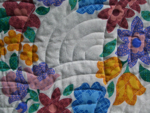 A2. Medium density quilting
