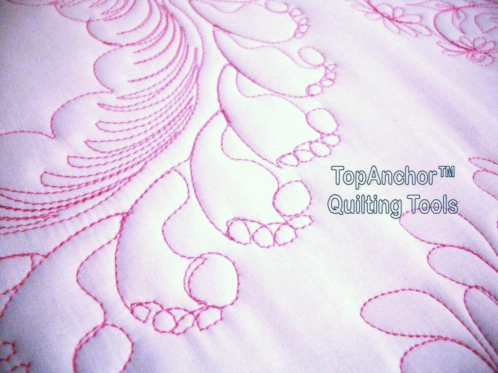 Feather Wreath Quilt Templates Quilting Designs Topanchor