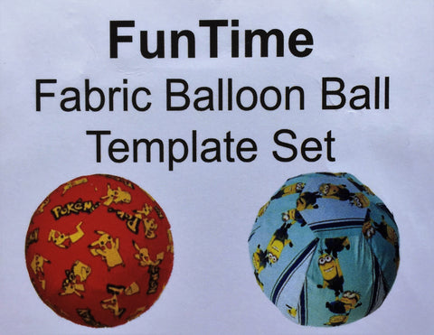 Balloon Cover Template Kit