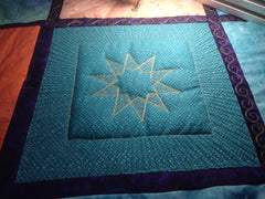 Star Machine Quilting Template