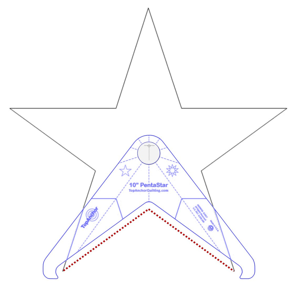 photo about Printable Free Motion Quilting Templates called Star Quilting Templates Layouts TopAnchor Quilting Applications