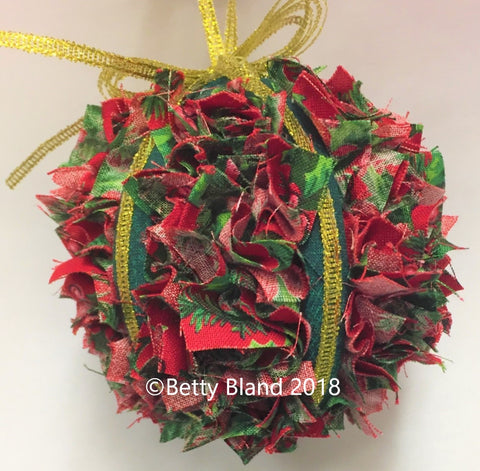 Confetti Ball Christmas Ornament Kit