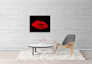 """Flower Lips"" by Sherry Little Fawn Schuessler 