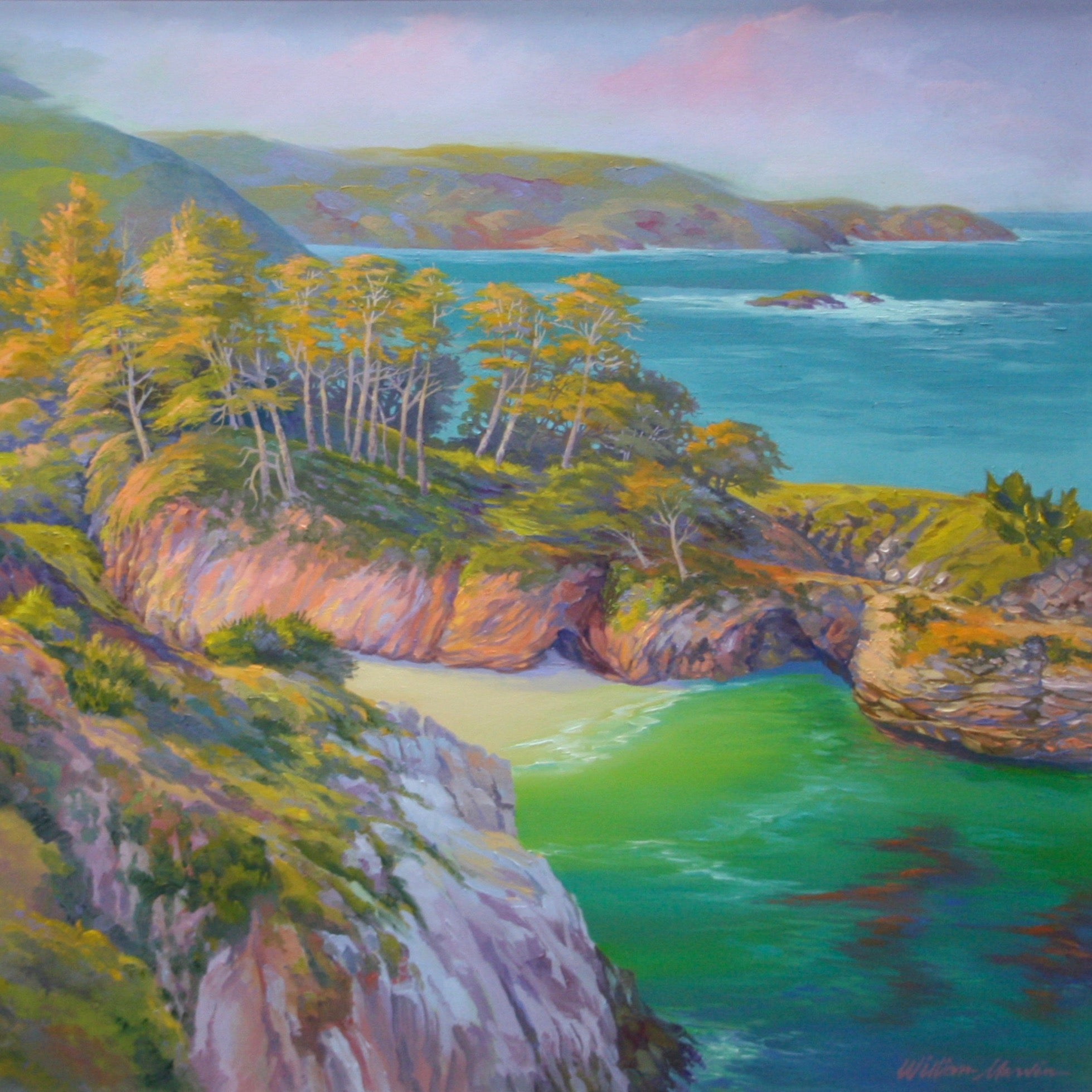 """Morning at China Cove"" by William Marvin 