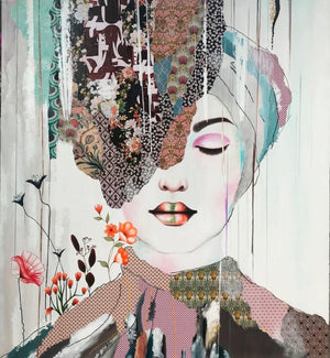 """Showing Up"" by Irene Hoff 
