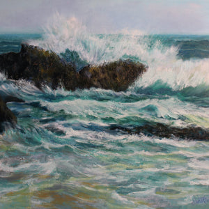 """Crashing in Laguna"" by Teri Starkweather 