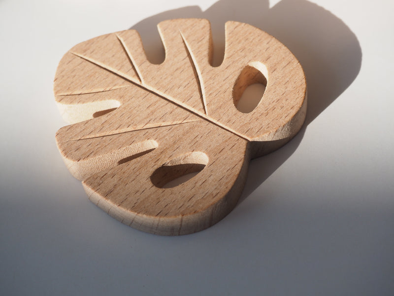 The Monstera Leaf Wooden Toy