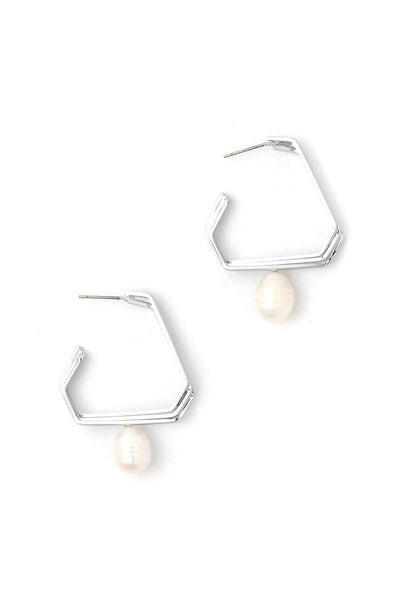 Pearl Dangle Drop Earring