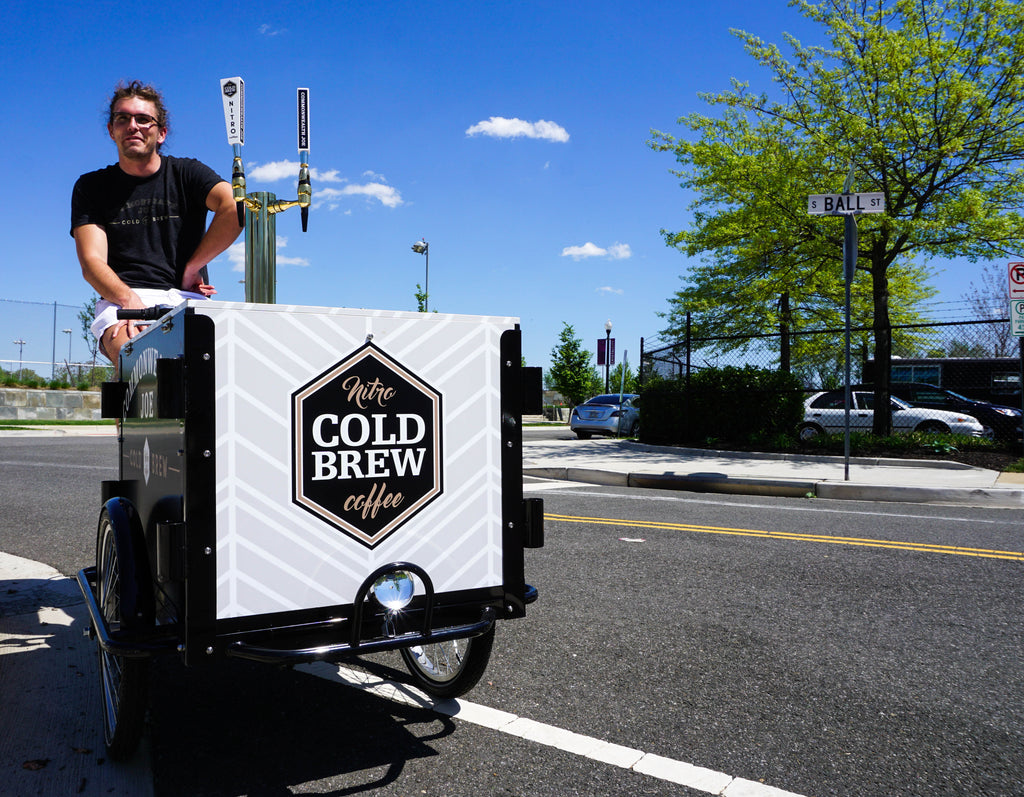 Nitro Cold Brew trikes hit Arlington