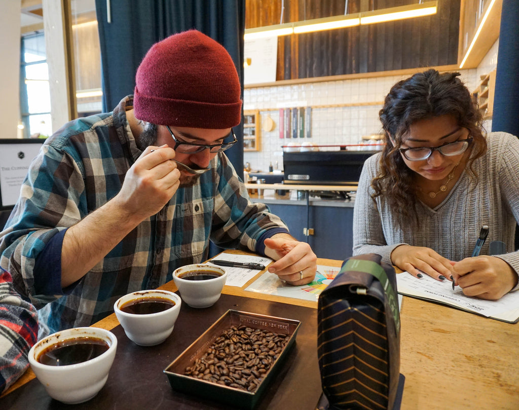 """Breaking Grounds"" with Coffee Cuppings"