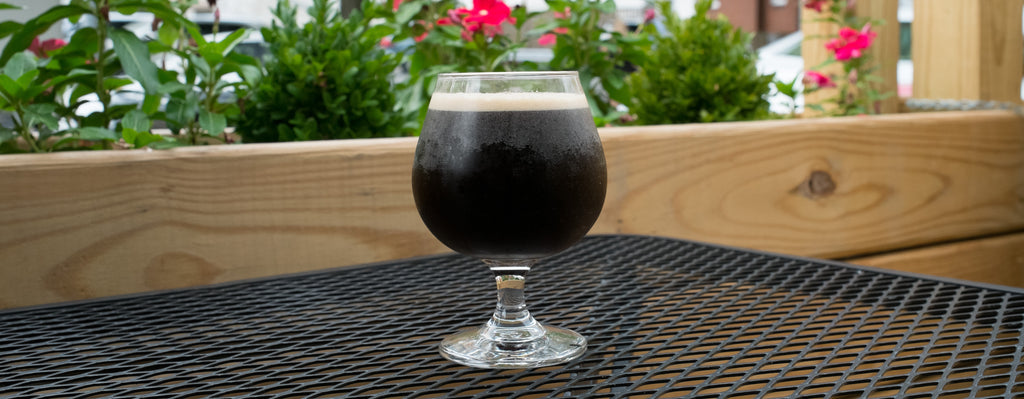 Nitro Cold Brew coffee snifter at The Java Shack