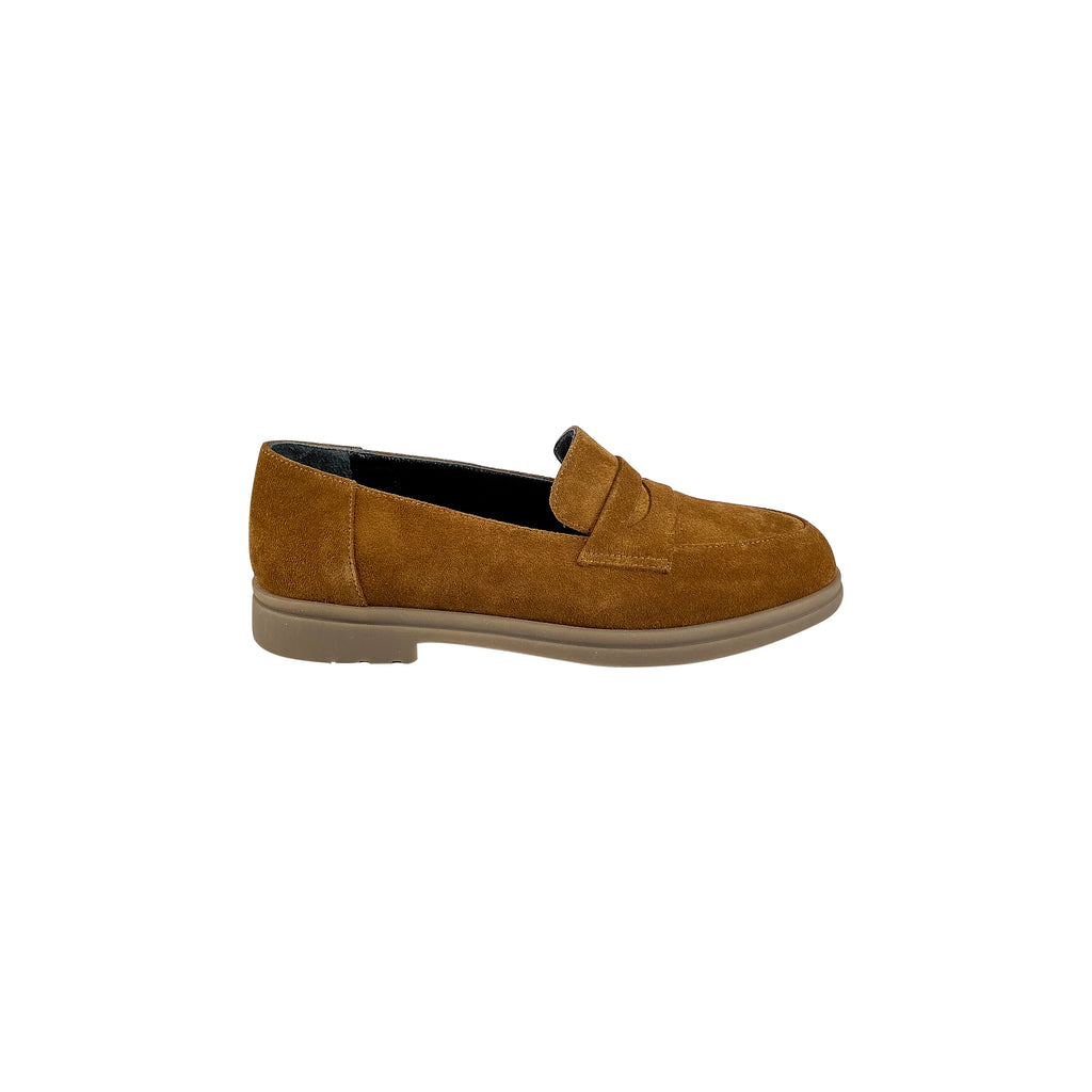 Nu x Neo 1132 Suede Brown Loafer